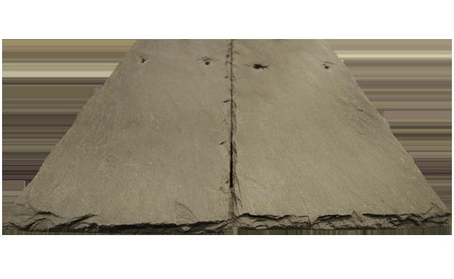 Single-Width Slate Roofing