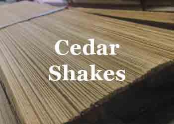 cedar shakes