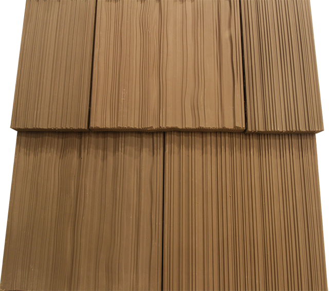 Single-Width Synthetic Cedar Shake