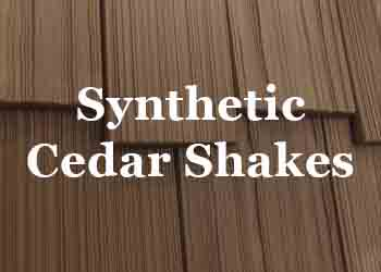 Synthetic Cedar Shakes