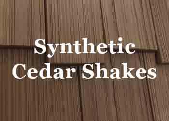 Synthetic Cedar Shakes