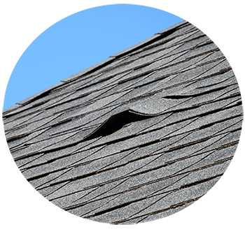 damaged roof, routinely perform roof inspections and repairs