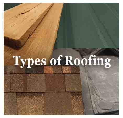 Types of Roofing Products